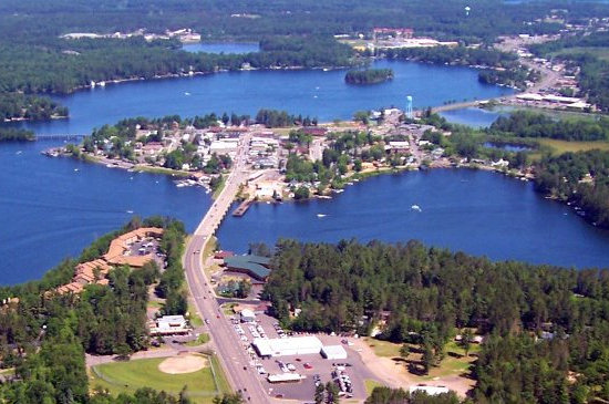 The Island City of Minocqua, Wisconsin
