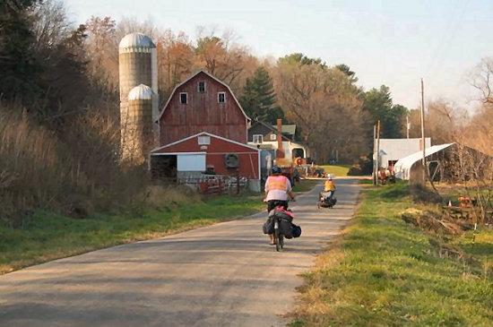 Quiet Wisconsin backroads
