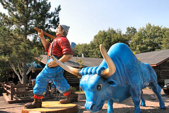 ...along with Wisconsin's many quirky roadside attractions.