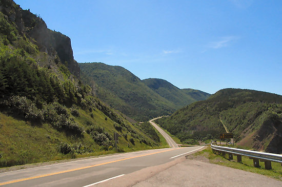 Along the Cabot Trail in Cape Breton