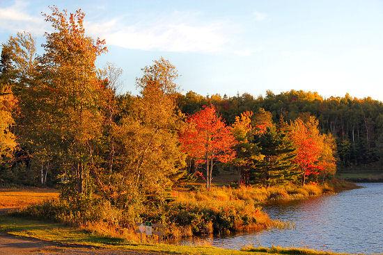 Nova Scotia in autumn