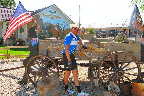 Jan at the Cowboy Country Inn
