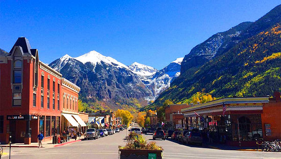 Downtown Telluride, Colorado