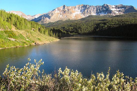 Trout Lake near Lizard Head Pass