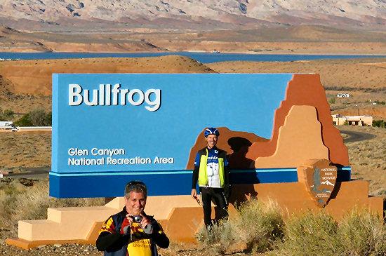 Arrival at Bullfrog!