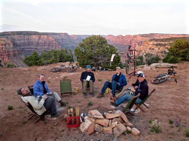Camp at Dark Canyon on Day 9