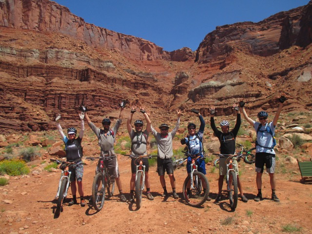 Nearing the end of two epic weeks of riding!