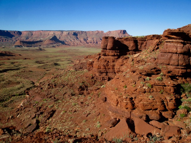 The view from Hurrah Pass