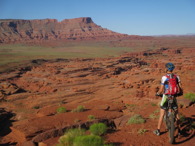 Nearing Moab and reflecting on two weeks of riding
