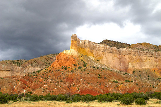 On the way to Abiquiu, New Mexico