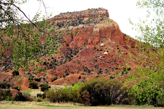 Nearing Ghost Ranch
