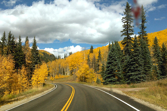 Fall colors along the way