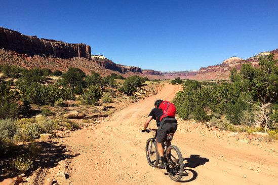 Descending into the desert