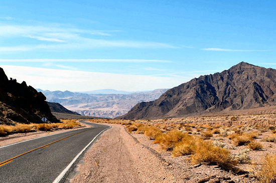 Salsberry Pass into Death Valley
