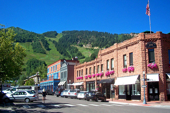 Downtown Aspen, CO
