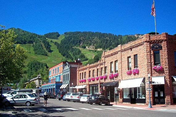 Downtown Aspen, CO