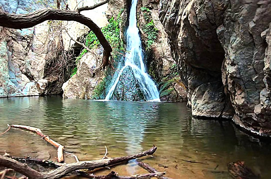 Darwin Falls - A miracle spring in the desert