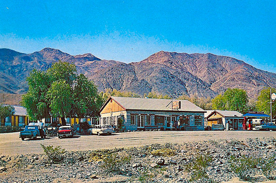 Panamint Springs Resort, back in the day