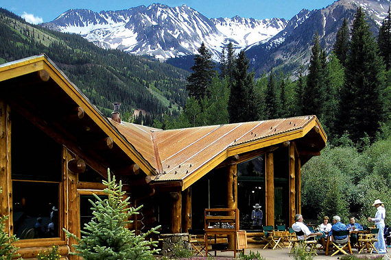Pine Creek Cookhouse in Ashcroft, CO