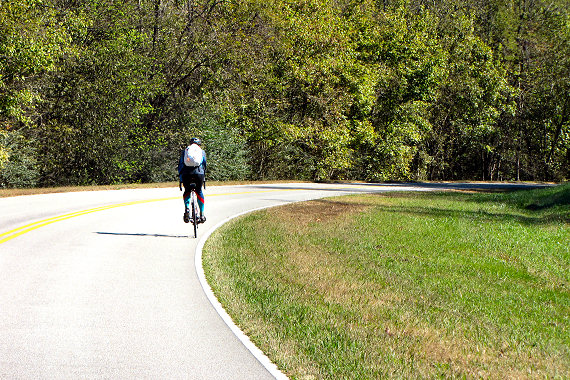 Riding along the Trace