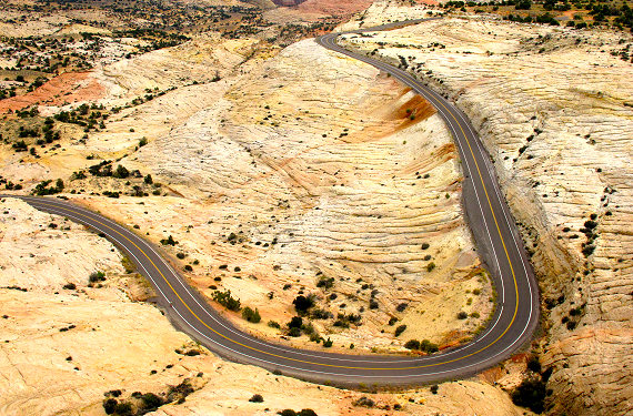 The Curvaceous Curves of Utah's Highway 12