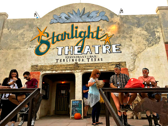 The Starlight Theatre in Terlingua