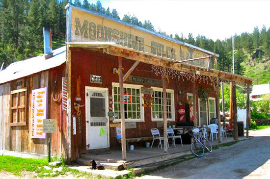 Moonshine Gulch Saloon in Rochford, SD