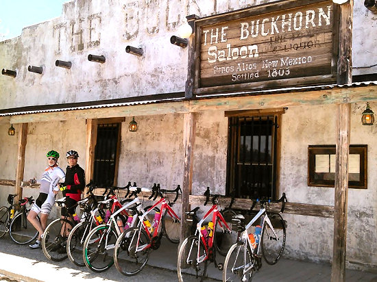 The Buckhorn Saloon in Pinos Altos, NM offers incredible food