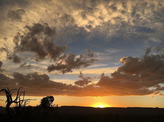 Sunset on Night 1