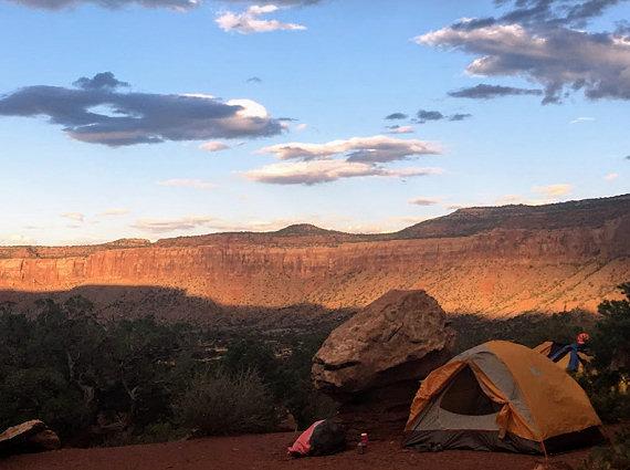 Hayduke Camp Life