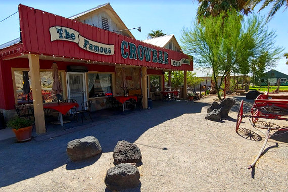 The Crowbar Cafe & Saloon in Shoshone, CA