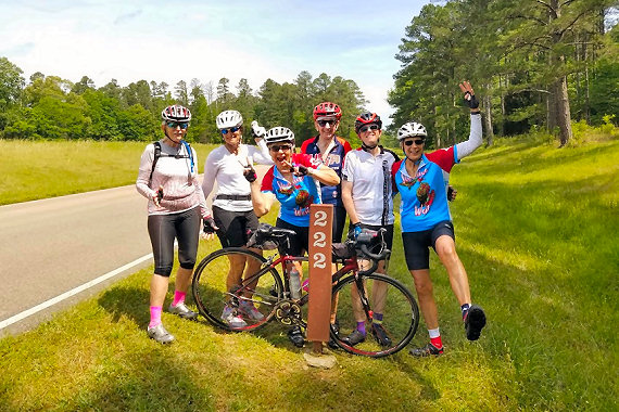 The halfway point along the Natchez Trace