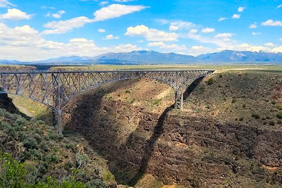 The Rio Grande Gorge Bridge