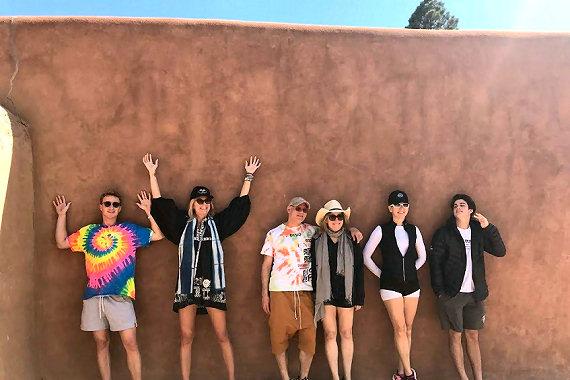 Taking a tour of Taos Pueblo