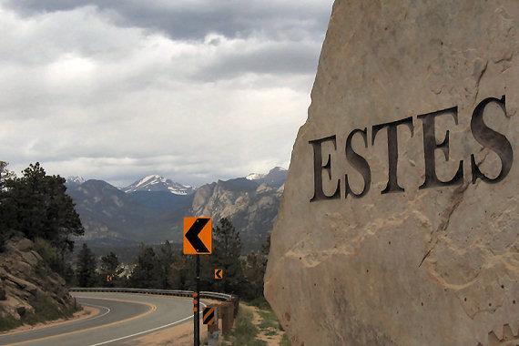 Estes Park Entrance Sign