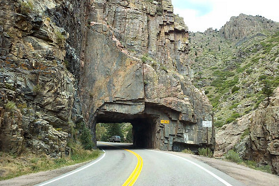 Tunnel Along Pouder River