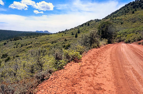 Looking back at Bears Ears West