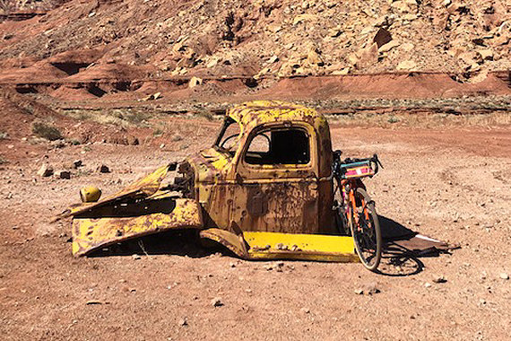 Abandoned Mining Truck