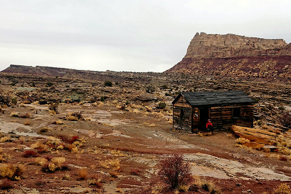 Old Mining Cabin