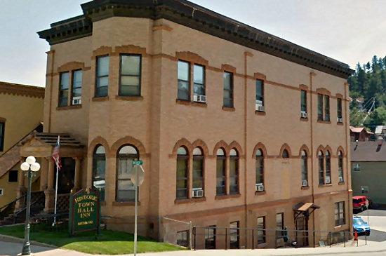 The Historic Town Hall Inn in Lead, South Dakota