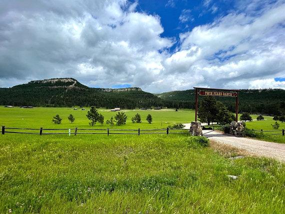 Twin Peaks Ranch near Nemo, South Dakota